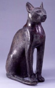 Cat; Egytpian, Late Period (664-332 BC).